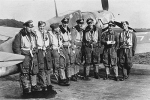 A group of JG 3 pilots. Most of them would not survive the war.